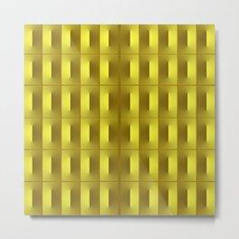 3D Squared Metal Print