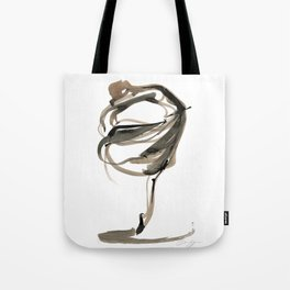 Ballet Dance Drawing Tote Bag