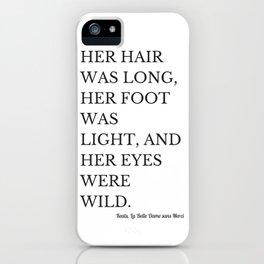 La Belle Dame sans Merci iPhone Case