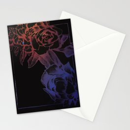 rose card Stationery Cards