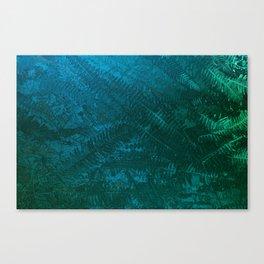 Ferns pattern Canvas Print