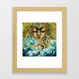 Storm Goddess Framed Art Print