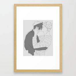 Haikyuu!! - Kurotsuki Framed Art Print