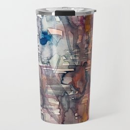 chaotic structure Travel Mug