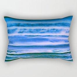 blueness Rectangular Pillow