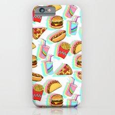 Rainbow Fast Food iPhone 6s Slim Case