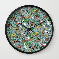 Adventure Supplies Wall Clock
