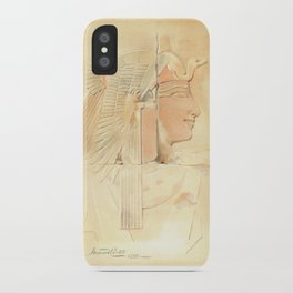 Queen Ahmose by Howard Carter iPhone Case
