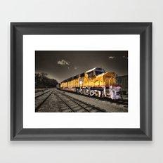 Union Pacific Centennial Framed Art Print