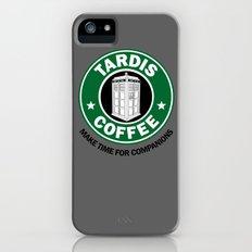 Tardis Coffee Slim Case iPhone (5, 5s)