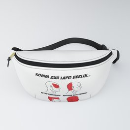 Police T-shirt Lapo Berlin police gift Fanny Pack