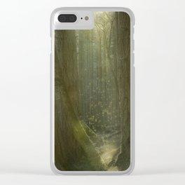 Fairy Glen Clear iPhone Case