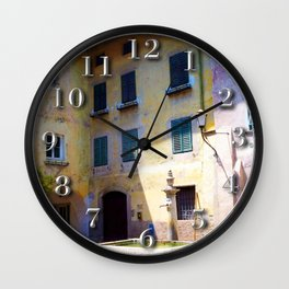 Egna, South Tryol, Italy Wall Clock
