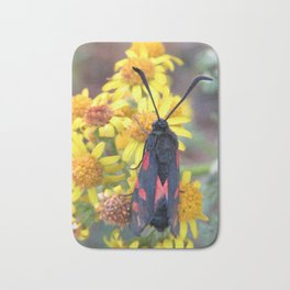 Burnet Moth Bath Mat