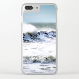 Sea Spray Clear iPhone Case