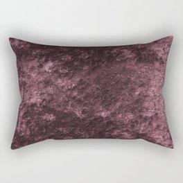 Deep rose violet velvet Rectangular Pillow