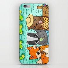 Ice Cream Social iPhone & iPod Skin