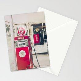 Vintage Gas Station Stationery Cards