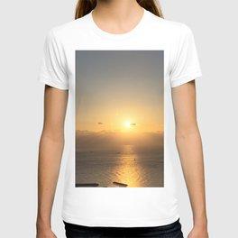 Sunrise of Seongsan  as seen from Jimibong in Seongsan, Jeju T-shirt