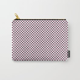 Ruby Polka Dots Carry-All Pouch