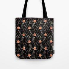 Art Deco Leaves / Version 3 Tote Bag