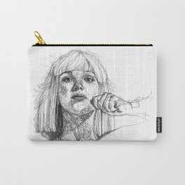 Sia Scribbles (Pen Art) Carry-All Pouch