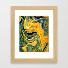 Painted Origin Framed Art Print