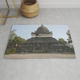 Buddhist temple Wat Visun, Luang Prabang, Laos Rug