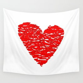 Shattered Heart Wall Tapestry