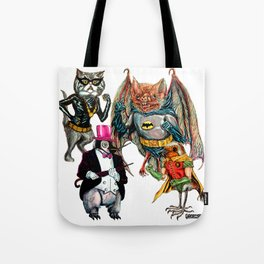 Animal Dance off Tote Bag