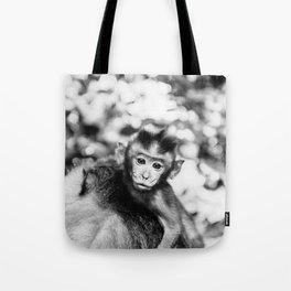 Monkey Pucker Tote Bag