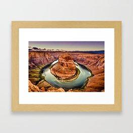 Horseshoe Bend Grand Canyon Arizona Framed Art Print