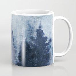 Blue Trees Coffee Mug