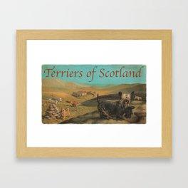 Terriers of Scotland Framed Art Print