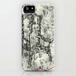 Relaxed Monster iPhone Case