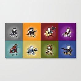 Vox Machina Assemble Canvas Print