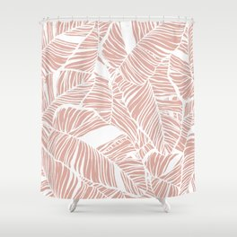waimea beach Shower Curtain