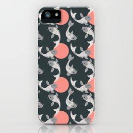 Koi fish pattern 001 iPhone Case