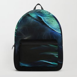 Fractal macaw Backpack
