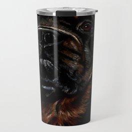Male Rottweiler Travel Mug