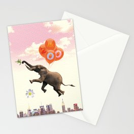 Elephant Air Zoo Stationery Cards