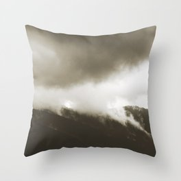 silence beckons 03 Throw Pillow