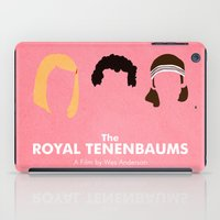 royal tenenbaums iPad Cases featuring The Royal Tenenbaums by Chay Lazaro