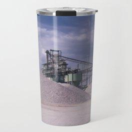 DE - Gravel processing plant Rißtissen Germany Travel Mug