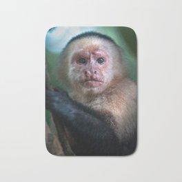 Capuchin Daydream - Cahuita Costa Rica Wildlife Bath Mat