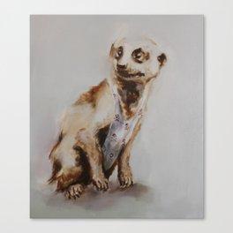 That Meerkat Got Style Canvas Print