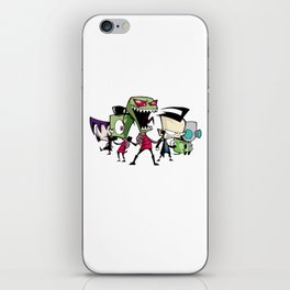 Invader Zim iPhone Skin