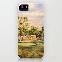 Merion Golf Course 17th Hole iPhone Case