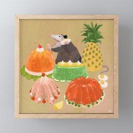 Dinner Party Guest Framed Mini Art Print