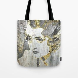 Silver Screen Bette Davis Tote Bag